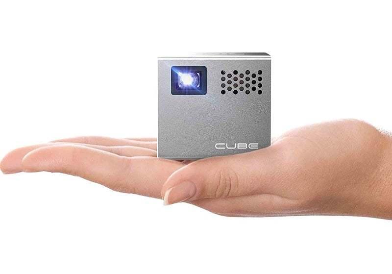 RIF6 CUBE – Test de Ce Pico Projecteur avec Batterie