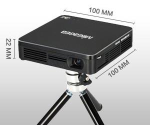 Mileagea DLP mini projecteur dimensions