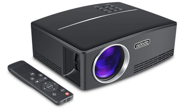 TOQIBO Vidéoprojecteur HD 1080P