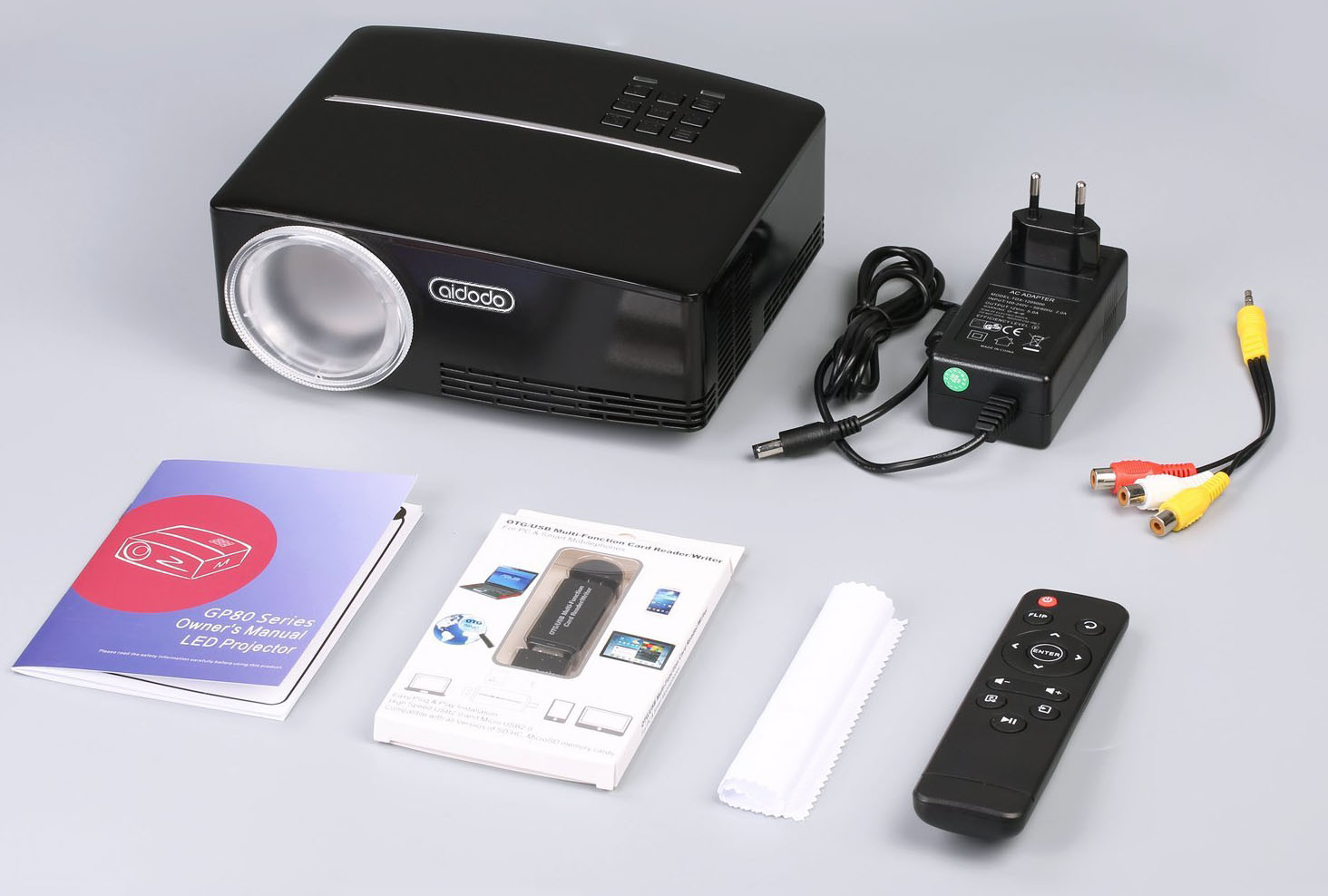 pico projecteur TOQIBO HD 1080P équipement