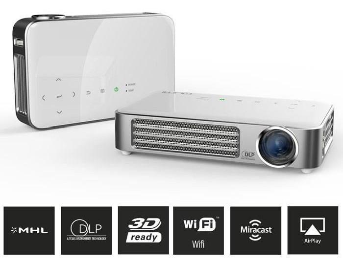 Vivitek Q5 pico projecteur connectivité