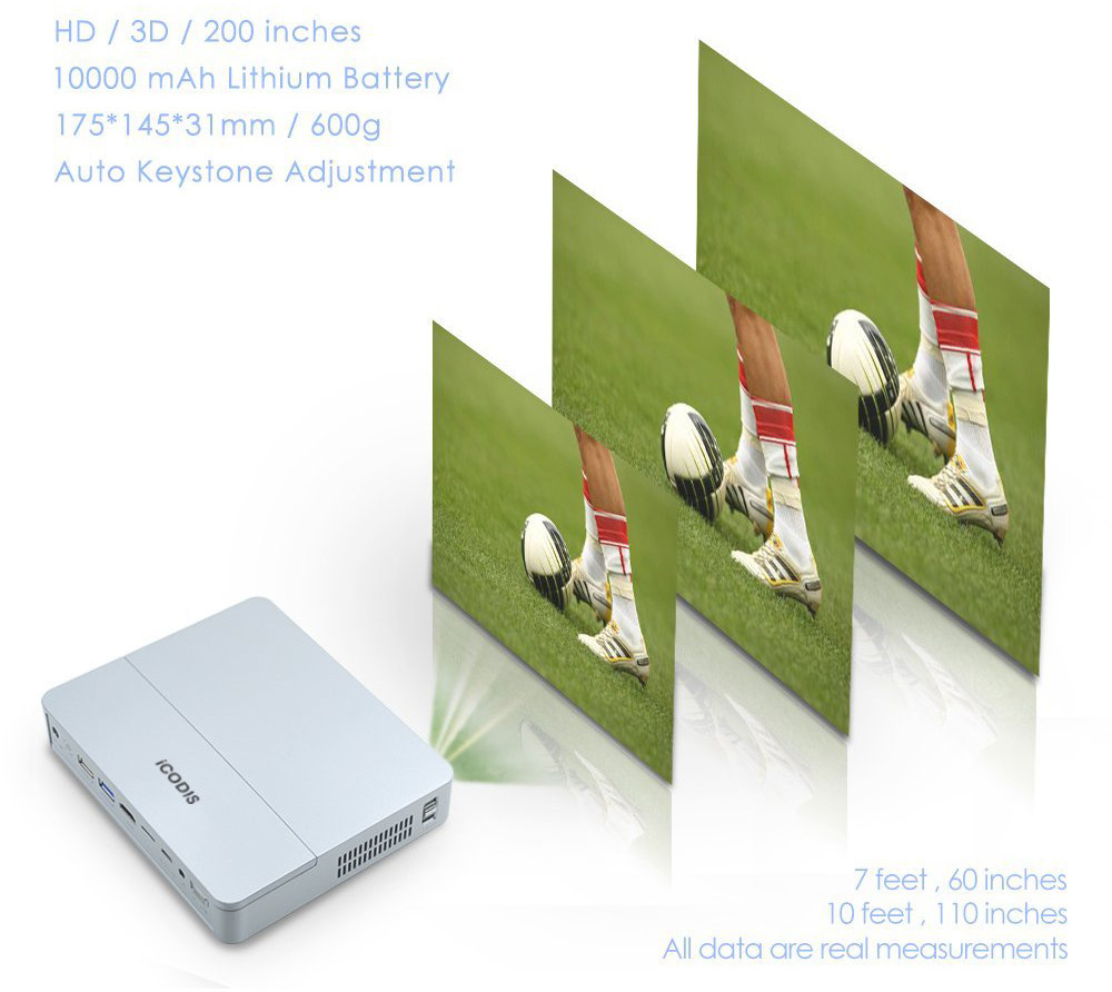 iCodis CB400 qualité image
