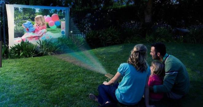 pico projecteur utilisation en extérieur