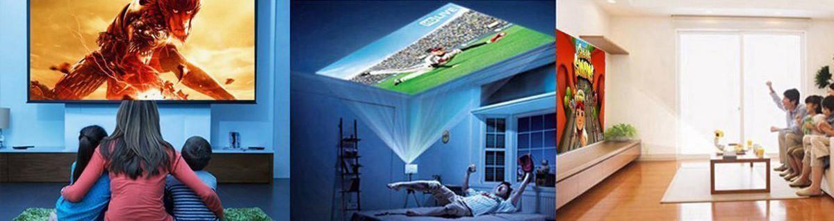 pico projecteur utilisations de pico projecteurs