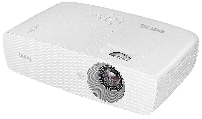 BenQ W1090 Projecteur de divertissement familial Spécial Sports 1080p vue côté