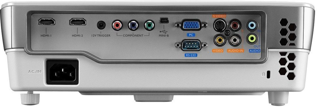 Benq W1070 Projecteur HDMI Blanc connectivité