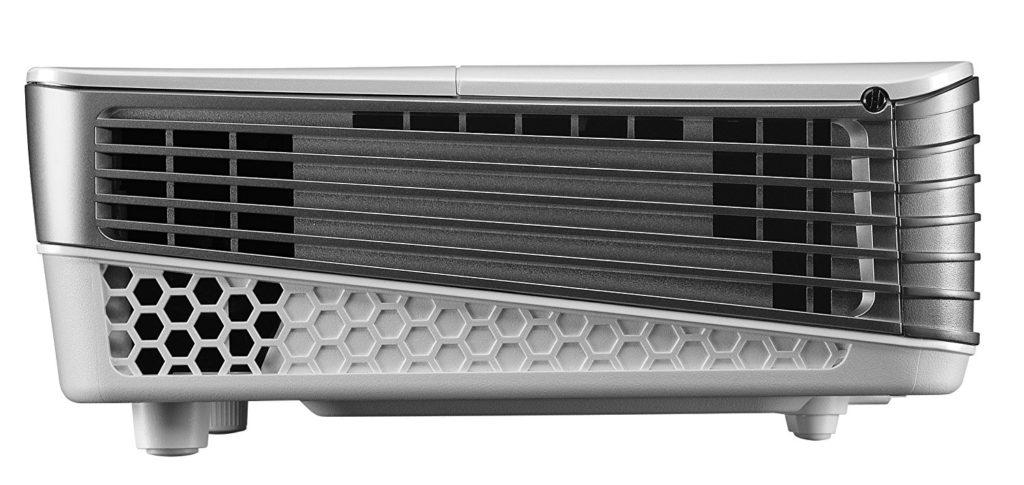 Benq W1070 Projecteur HDMI Blanc vue de coté