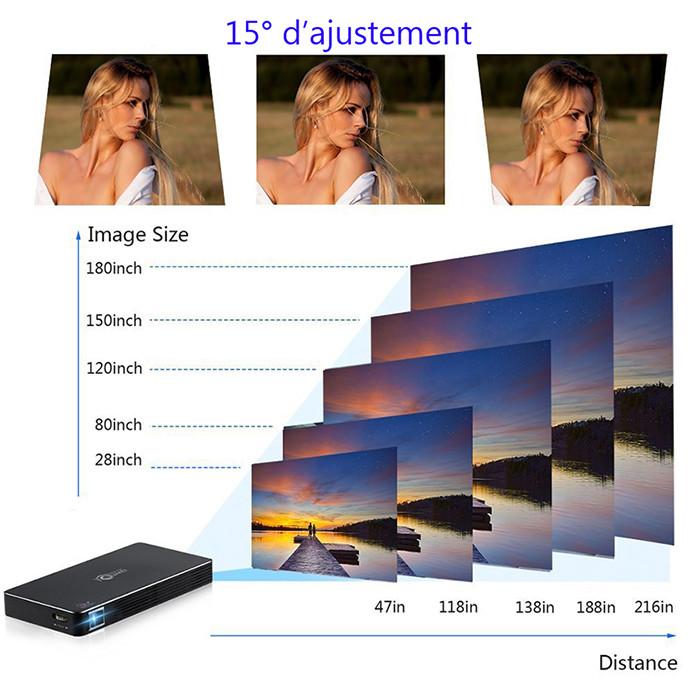ESHP Full HD Pico Projecteur qualité d'image