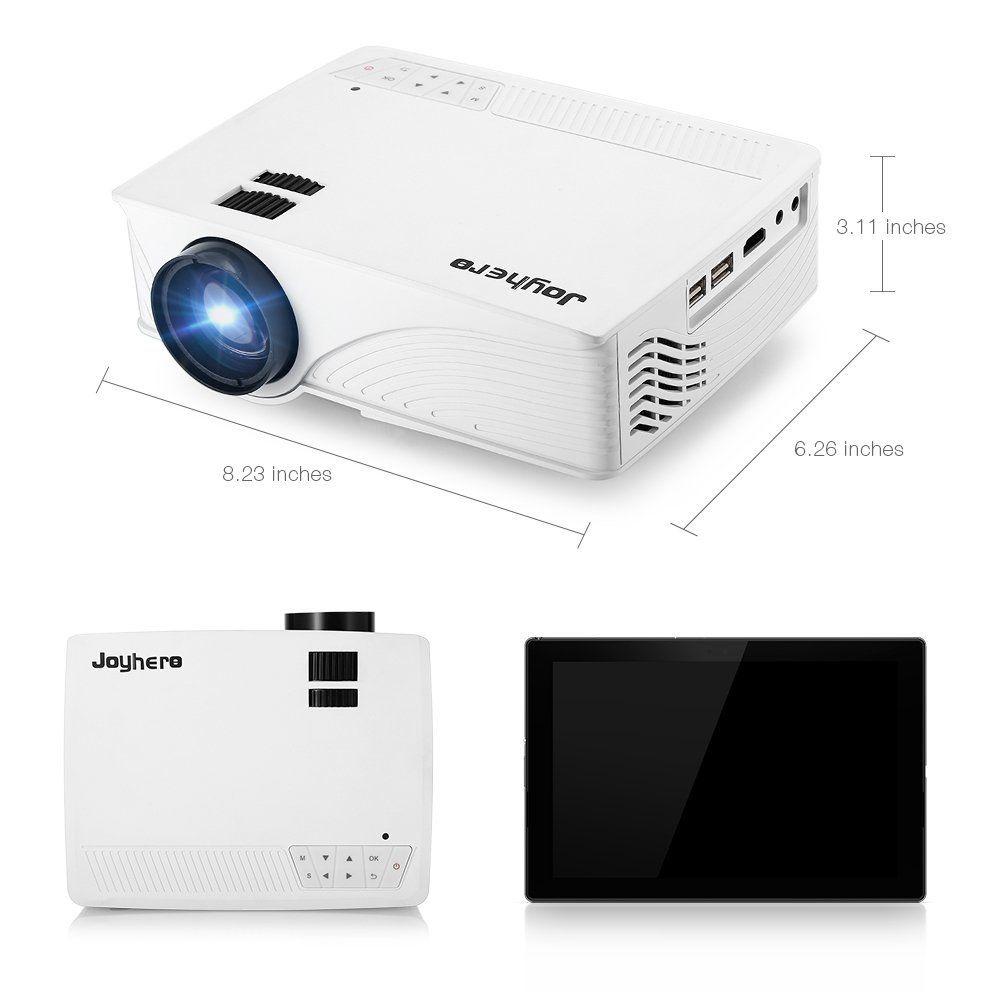 Mini Vidéoprojecteur 2000 Lumens HD 1080P Joyhero LED LCD