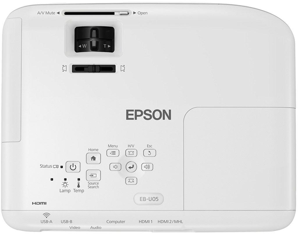 Epson EB ub-u05 WUXGA vidéo projecteur