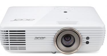 Acer Home V7850 2200ANSI Lumens DLP 2160p
