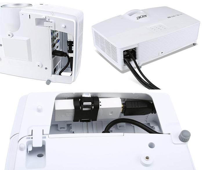 Acer V7500 RGBRGB 3D Full HD - câbles