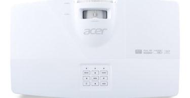 Acer V7500 RGBRGB 3D Full HD - vue de dessus