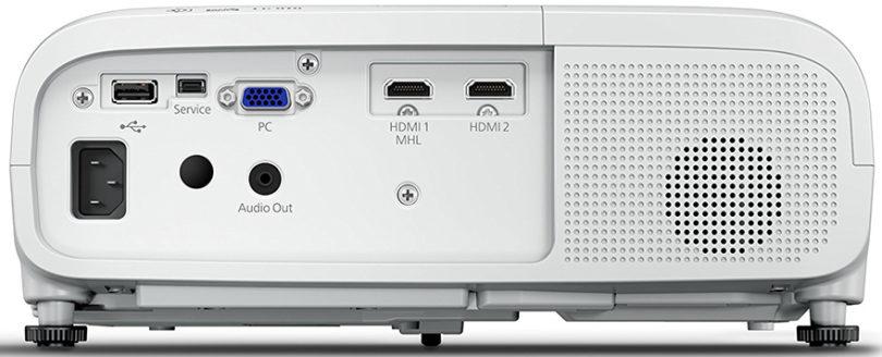 Epson EH-TW5650 - Vue arrière