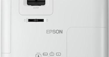 Epson EH-TW5650 - Vue du dessus et accès boutons