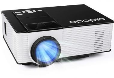 OMAS HD 1080P 1800 Lumens Led Mini LCD