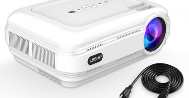 Vidéoprojecteur, LESHP HD 1080P HD 3200 Lumens Led Mini LCD Projecteur de Cinema Théâtre Familiale Privé