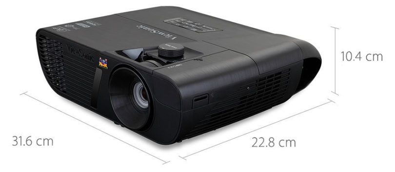 ViewSonic LightStream Pro7827HD Vidéoprojecteur - Dimensions