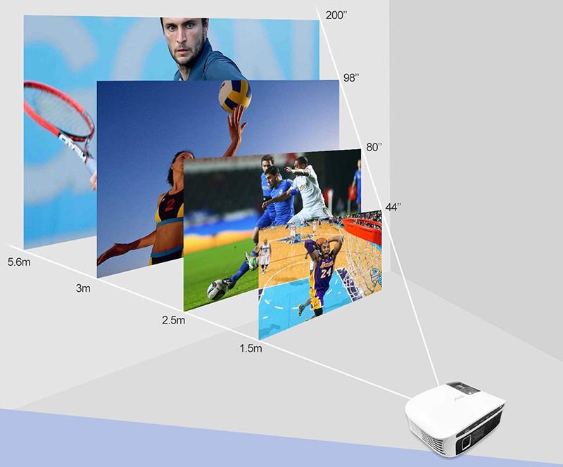 Artlii Vidéoprojecteur LED - Rétroprojecteur HD - Qualité de l'image