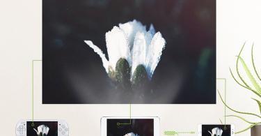 BeamerKing Vidéoprojecteur Projecteur LED Portable de 2200 Lumens