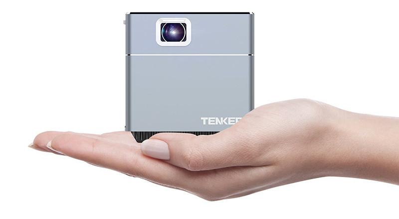 Tenker S6 Mini Cube pico projecteur