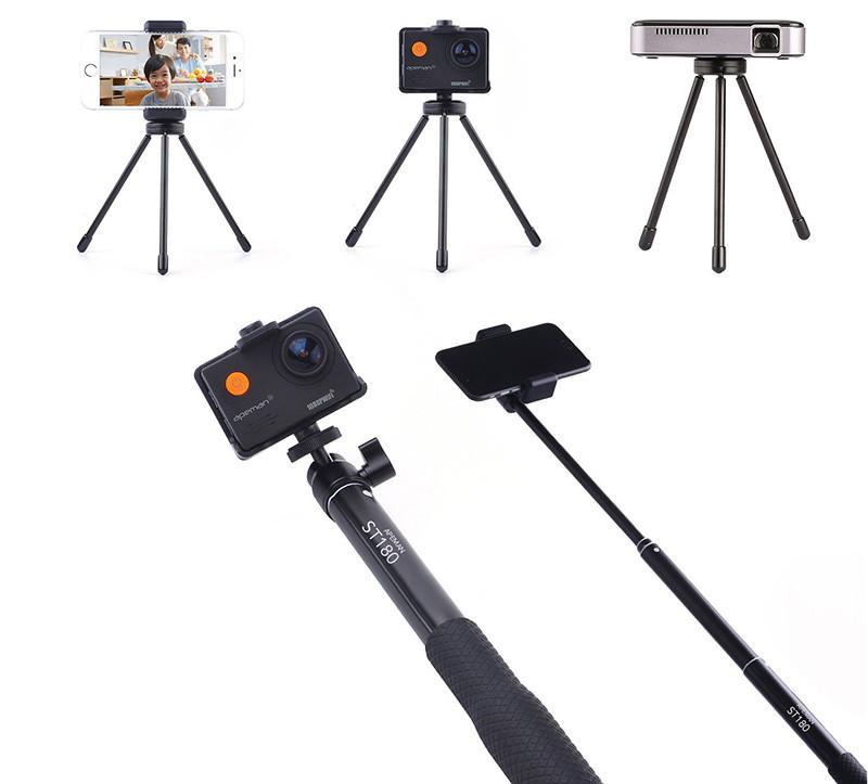 apeman extensible Selfie Stick Monopod Trépied