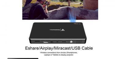 Mini Vidéoprojecteur, Tenswall Pico Projecteur