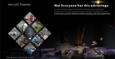 Vidéoprojecteur LCD Coloré(TM) Video Projector, Beamer ,Mini WiFi 30 Lumen 1080p