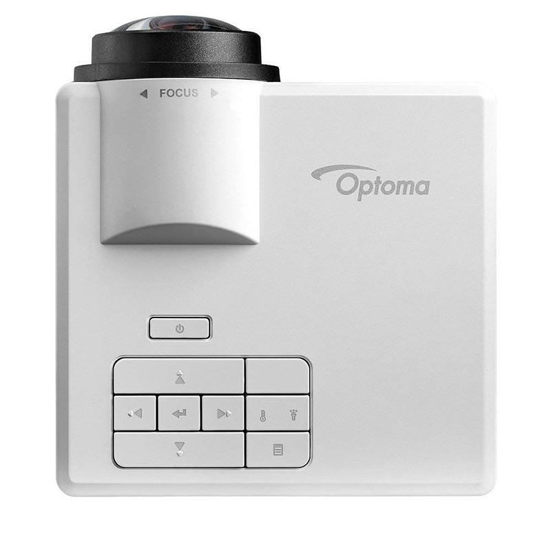 Vidéoprojecteur Optoma ML1050ST, LED Courte focale Ultra Compact (420g) - Vue Dessus