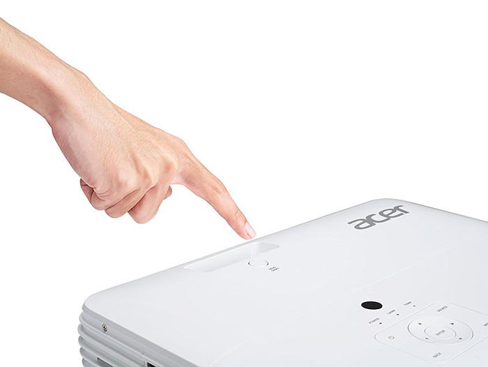 Acer M550-4K H7 UHD-4K - Vue dessus