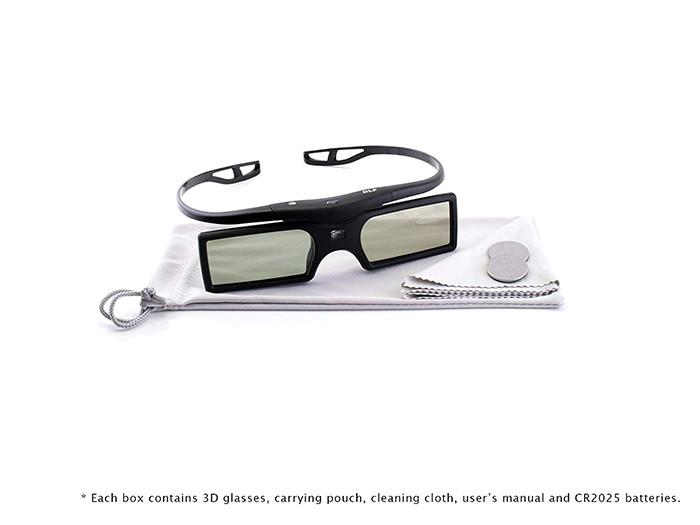 Cinemax 4 paires de lunettes 3D DLP-Link Gravity