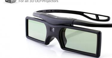Cinemax - 4 paires de lunettes 3D DLP-Link Gravity - Compatible uniquement avec les vidéoprojecteurs 3D