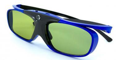 LCS - 1 Paire de lunette 3D actives DLP-LINK avec Adaptateur secteur USB 1A