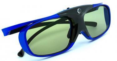 LCS - Paire de lunette 3D actives DLP-LINK avec Adaptateur secteur USB 1A