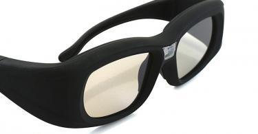 Lunettes 3D DLP-Link Wave Xtra- 1 paire de lunettes 3D avec chargeur