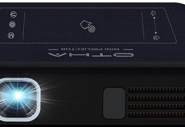 OTHA Vidéoprojecteur Wifi, Pico Projecteur Portable