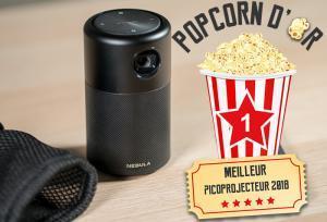 """Popcorn d""""or Award Meilleur picoprojecteur 2018"""