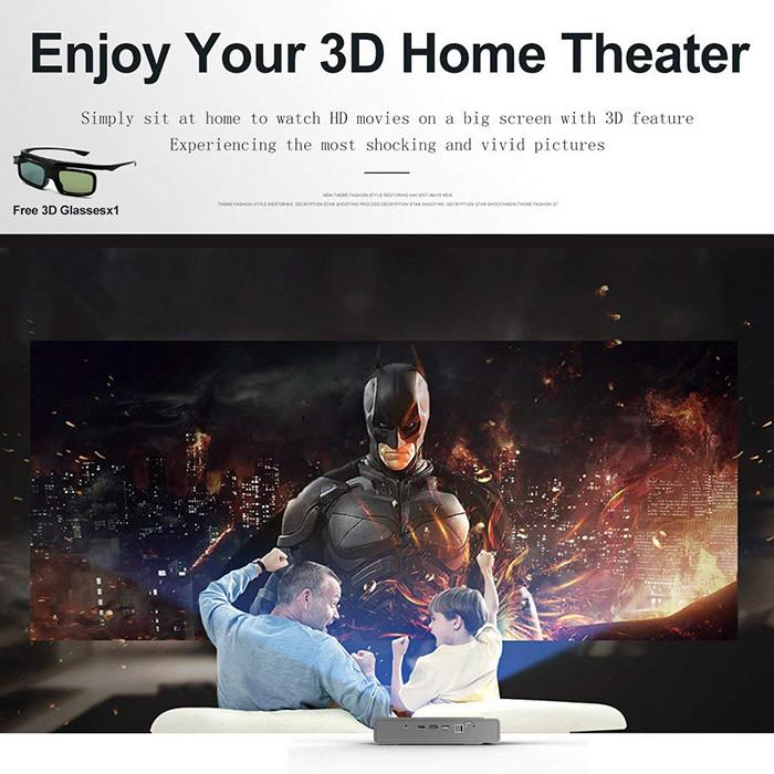 Videoprojecteur, 1280x800 3D DLP-Link Android LED Projecteur