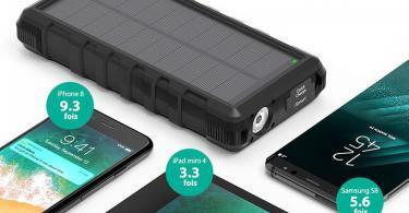 Chargeur Solaire Portable RAVPower 25000mAh