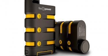 FosPower PowerActive - 10200mAh - Batterie externe