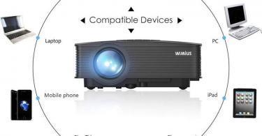 WiMiUS Mini Vidéo Projecteur Portable