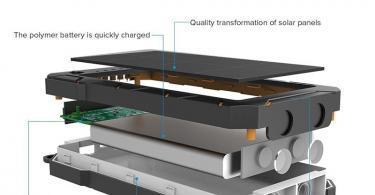 X-DNENG Chargeur Solaire Power Bank Solaire Batterie Solaire 15000mAh