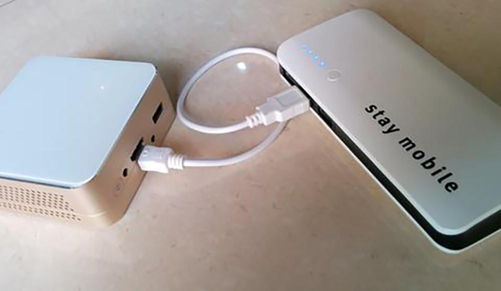Batterie externe ou un chargeur portable ou Power Bank quelle est la différence pour un Pico Projecteur