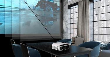 ELEPHAS Vidéoprojecteur Full HD 3800 Lumens - détails projection