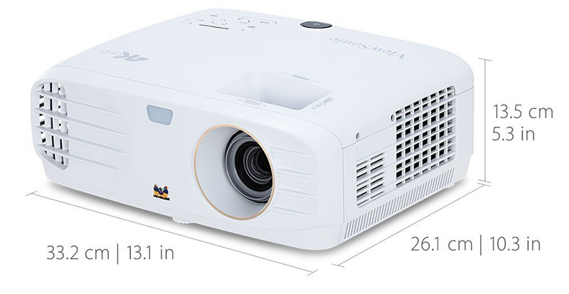 ViewSonic PX727-4K Vidéoprojecteur 4K UHD 2200 ANSI Lumens