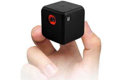 Sysmarts Videoprojecteur Portable Mini Taille de Poche