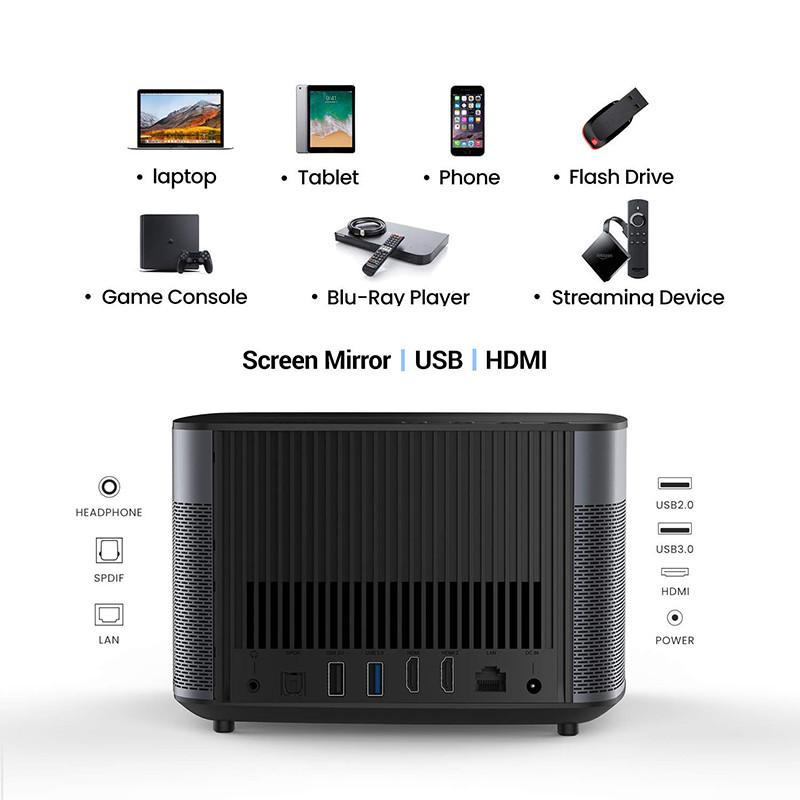 XGIMI H2 1080p Full HD 4k Smart 3D Projecteur