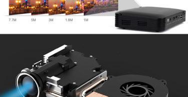 Tenswall Pico Projecteur 600 ANSI Lumens 3D Vidéoprojecteur