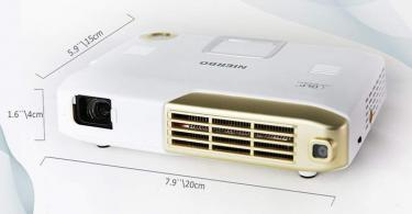 Test NIERBO Videoprojecteur Interactif Mini Projecteur 3D Full HD