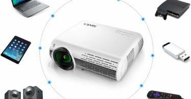 Test Vidéoprojecteur YABER 4500 Lumens Full HD 1080P